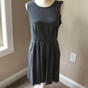 Dress with pockets.